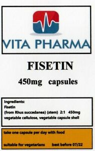 HIGH-STRENGTH-FISETIN-450mg-365-capsules-COGNATIVE-SUPPORT-HEALTHY-MIND