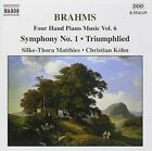 Brahms Matthies Kohn - Four Hand Piano Music 6 CD