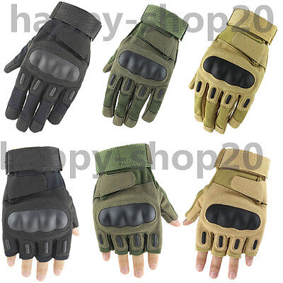 Outdoor Military Airsoft Hunting Shooting Motorcycle Army Fight Tactical Gloves
