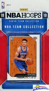 Details about New York Knicks 2018/2019 Panini Hoops NBA EXCLUSIVE Factory  Sealed Team Set