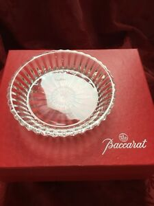 MIB-FLAWLESS-Exquisite-BACCARAT-Crystal-MILLE-NUITS-Bottle-COASTER-DISH-PLATE