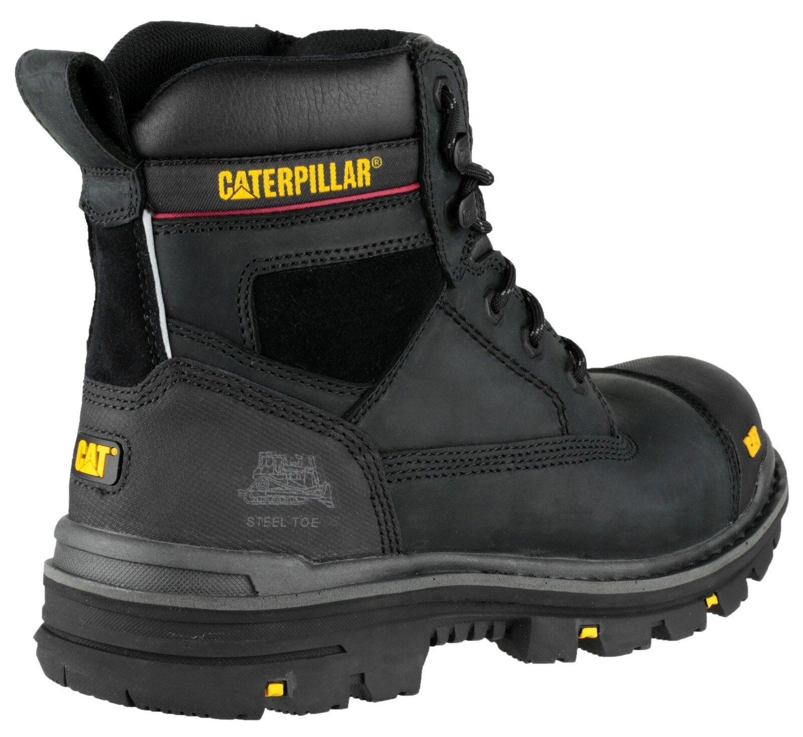 CAT Caterpillar grava 6  para hombre Bota Bota Bota Puntera De Seguridad Resistente UK6-13 5af628