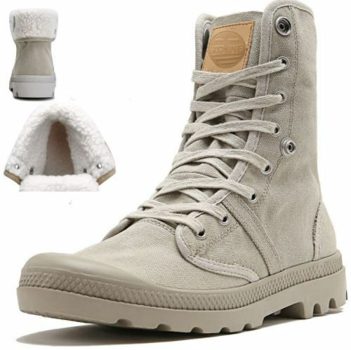 OTTO Men Palladium Style for 2017 -High-top Military Ankle Boots Casual Canvas