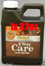 Fiebing's 4 Way Care Leather Conditioner Protector Cleaner 32oz
