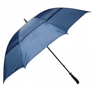 "NEW Golf Craft 68"" Windbuster Umbrella - Navy - Drummond Golf"