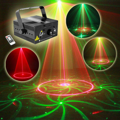 3 Lens 40 in 1 Sound controlled pattern laser light Xmas Party stage KTV lamp YC