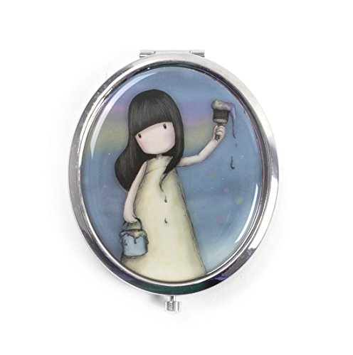Santoro Gorjuss Compact Mirror With Keepsake Bag Rainbow Dreams For Sale Online Ebay