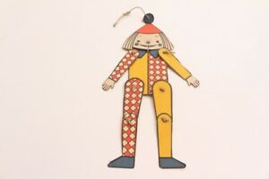 Jumping-Jack-Boy-Clown-Papier-Box-Vintage