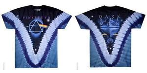 OFFICIAL-LICENSED-PINK-FLOYD-PYRAMID-V-TIE-DYE-T-SHIRT-ROCK-IMPORT-DSOTM