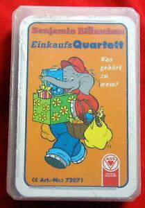 Charitable Benjamin Fleurs Achat Quatuor-jeu De Cartes-aas 1998-bluemchen Cartes-afficher Le Titre D'origine