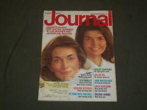 1974-NOV-LADIES-039-HOME-JOURNAL-MAGAZINE-JACKIE-KENNEDY-amp-LEE-RADZIWILL-B-2236