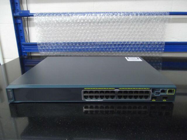 Cisco WS-C2960S-F24PS-L (370W) 24 Poe Ports + 2 X SFP