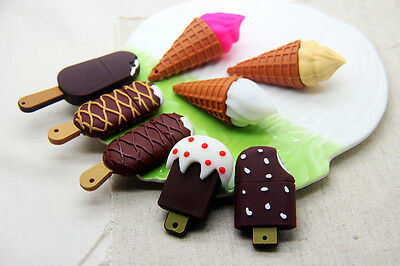 Cool!New Ice Cream Model 4GB-32GB USB 2.0 Memory Stick Flash Pen Drive USB171