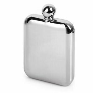 Mirror-Finishing-6oz-High-Quality-304-Stainless-Steel-Hip-Flask-Gloss-Chrome