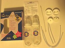 USED ~Podee Hands Free Baby Bottle System ~ (Twin Pack 2)- 9oz  Bottles