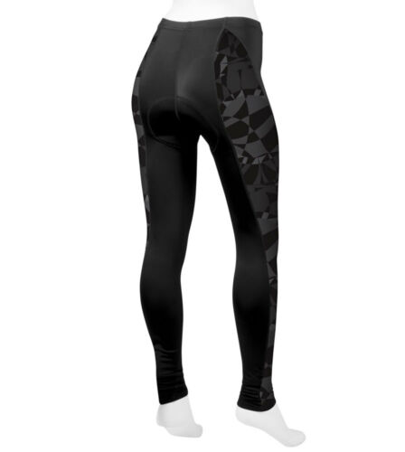 Aero Tech Designs Mosaic Cycling Tights Padded Leggings Made in USA