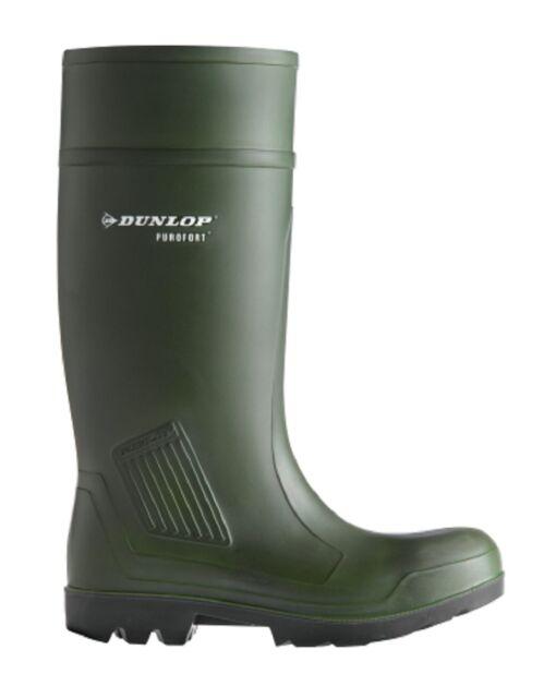 Sicherheitsstiefel S 5 Dunlop Purofort Gr.43 Gummistiefel Stiefel 40057