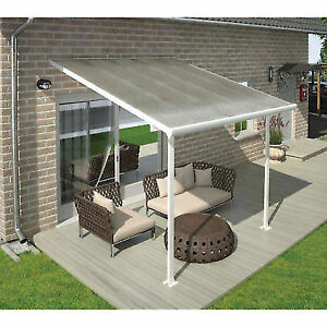Palram Feria 13x14 Patio Cover Hg9214 Ebay