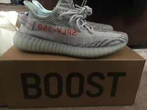 on sale 21343 50234 Image is loading Yeezy-Boost-350-V2-Blue-Tint-SIZE-8-
