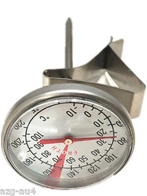 Milk Froth Frothing Frother Thermometer Gauge MILK FROTHING COFFEE THERMOMETER