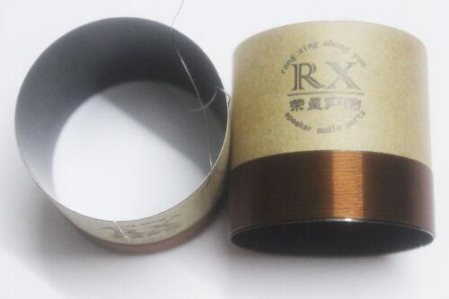 1 pcs ID 75mm horn voice coil stents:black aluminous 8 ohm woofer bass speaker