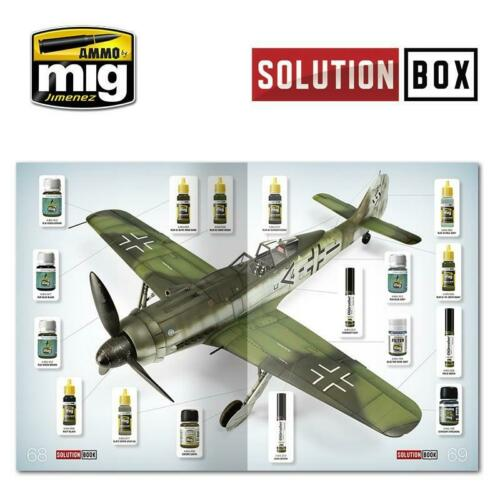 AMMO MiG Jimenez How to Paint WWII Luftwaffe Late Fighters BOOK AMIG6502