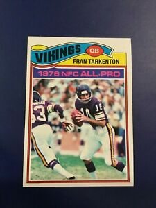 1977-Topps-400-FRAN-TARKENTON-Minnesota-Vikings-NM-MINT-8
