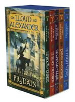 The Chronicles Of Prydain Boxed Set By Lloyd Alexander, (paperback), Square Fish on sale