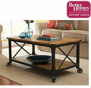Image Is Loading Coffee Table TV Stand With Wheels Up To