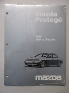 1998 MAZDA PROTEGE ELECTRICAL WIRING DIAGRAM SERVICE ...