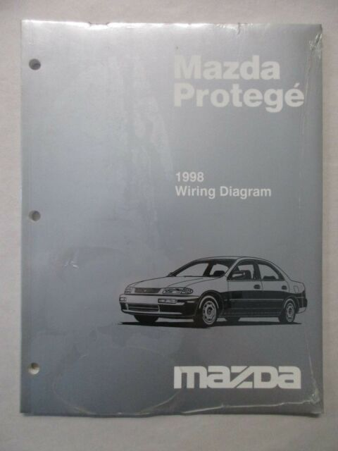 1998 Mazda Protege Electrical Wiring Diagram Service