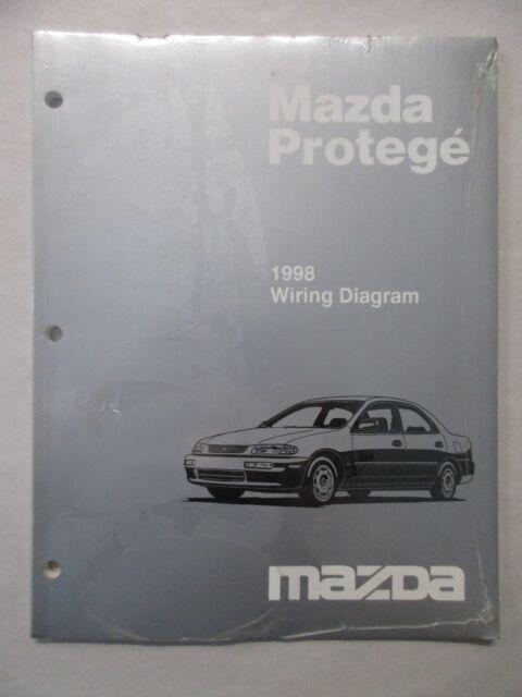 1998 Mazda Protege Electrical Wiring Diagram Service Manual