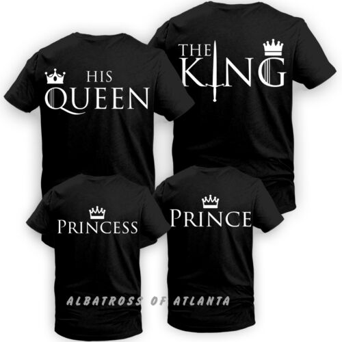 King Queen sa reine son roi couple Matching Game of Thrones romantique T Shirt
