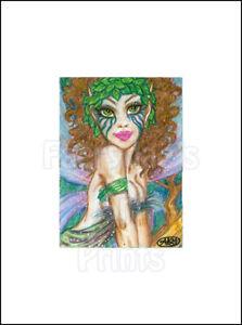 Giclee Print Fairy Faery Fantasy Sexy Big Eye Art fdae CAAT FAE SFA ACEO PSC