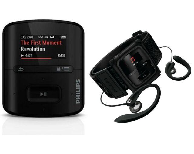 Philips SA4RGA02KFS/37 GoGear Raga Sport Pack MP3 Player 2 GB