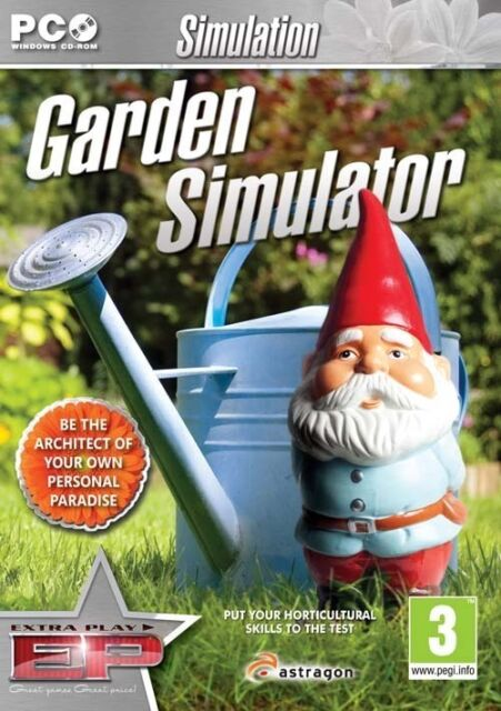 Garden Simulator (PC CD) NEW & Sealed