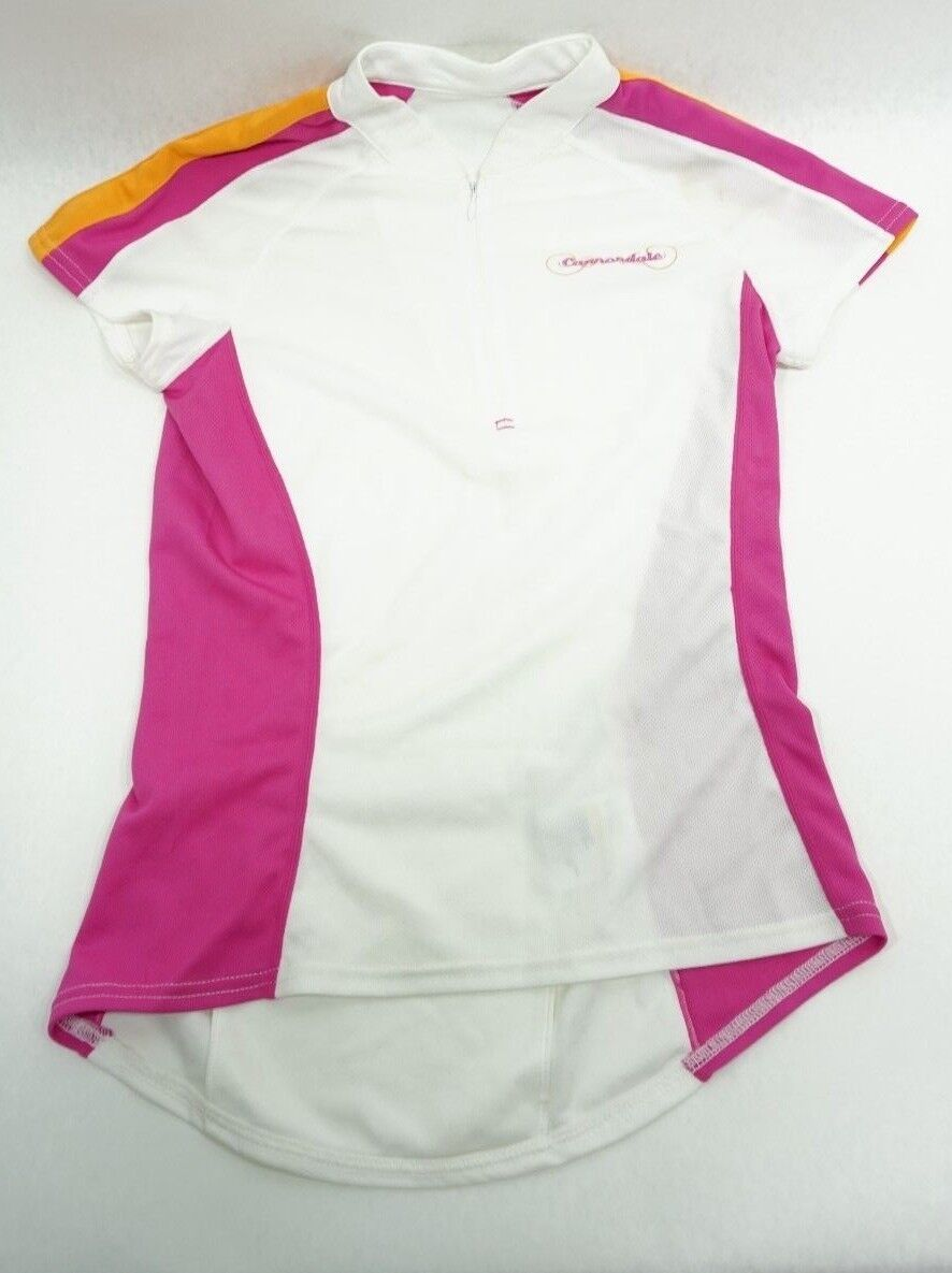 Cannondale Womens Cycling Jersey Medium White New   online sale