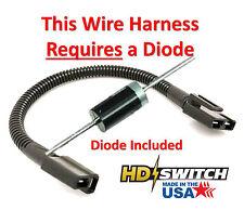 Exmark, toro 103 2931 pto clutch pigtail wire harness kit made in bus wire harness exmark, toro 103 4001 pto clutch pigtail wire harness kit w diode