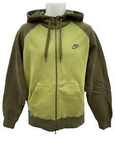 NEU-Vintage-Nike-SPORTSWEAR-NSW-Heavyweight-Hoodie-Jacke-Military-oliv-gruen-M