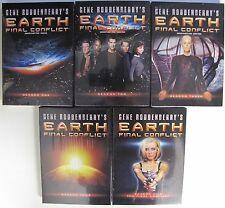Earth Final Conflict Complete All Season 1-5 DVD SET TV Episode Video Bundle Lot