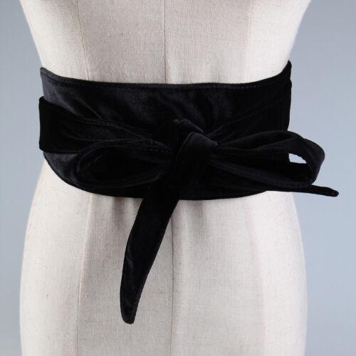 weiches bowknot der Frauen breite Selbstbindung wickeln um Taillenband