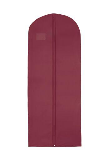 Hoesh UK Vestido Vestido de Falda impermeable Bolsas Borgoña Cubierta Superior Ropa Bolso De Ropa