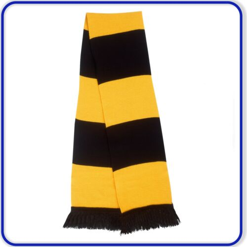 Good Quality Result Traditional Football Team Equal Striped Acrylic Scarf 151x19
