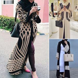 Dubai-ouvert-abaya-caftan-musulman-Jilbab-islamique-cardigan-manches-longues