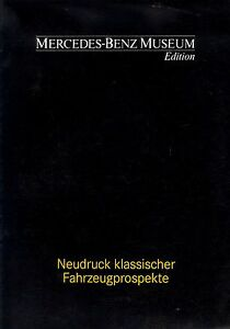Mercedes-Museum-Edition-Prospekt-1991-prospectus-brochure-prospecto-prospetto
