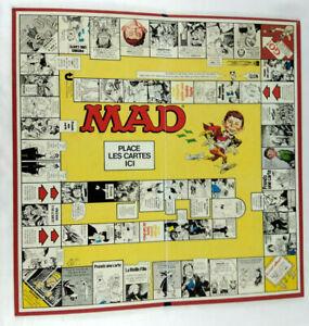 Mad-le-jeu-1979-Parker-Jeu-de-societe-UNIQUEMENT-LE-PLATEAU-Envoi-rapide-suivi