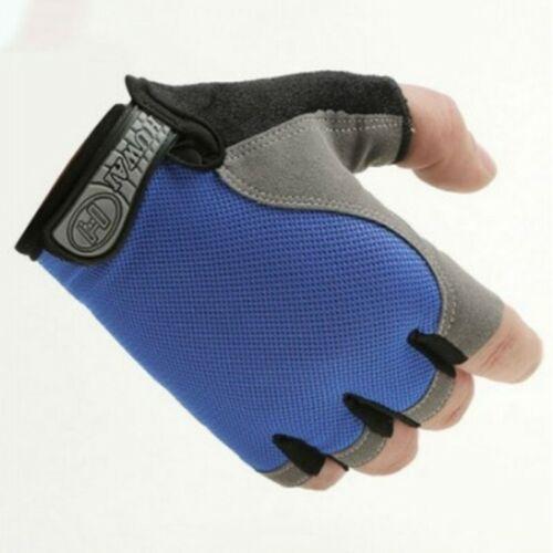 Anti-Slip Unisex Cycle Sports Half Finger Gloves Cycling Bike Racing Glove Set