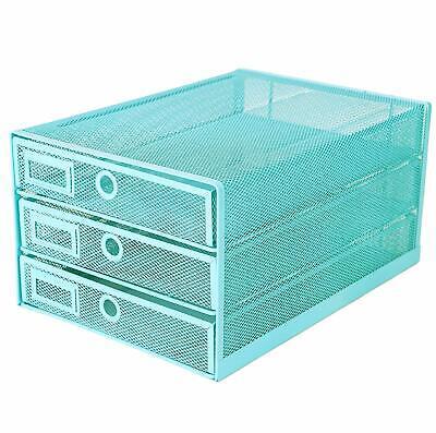 Exerz Paper Sorter//Tray//Desk Organiser//File Holder 2PCS Pack for Wire Mesh