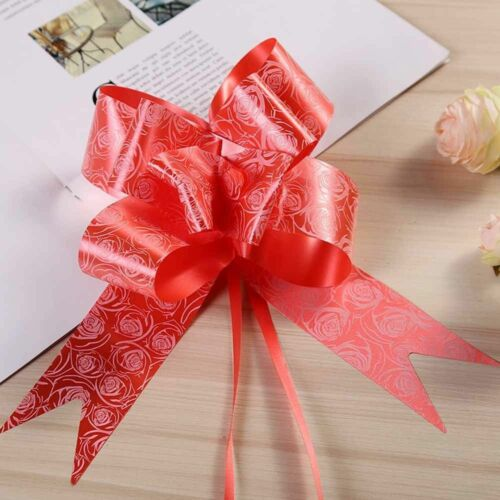 30 MM Pull Bows Wedding Party Decorations Gift Wrap Packaging Christmas Ribbons