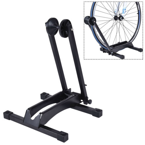 Bike Stand Adjustable Floor Parking Rack Bicycle Storage Folding Holder 16-29/""